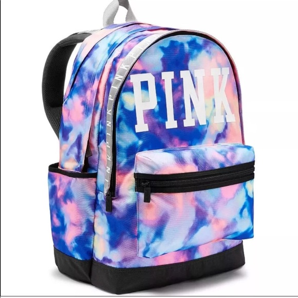 fc9a306ddae53 Victoria's Secret PINK Watercolor Campus Backpack